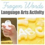 Icy Fun: Frozen Words Language Arts Activity
