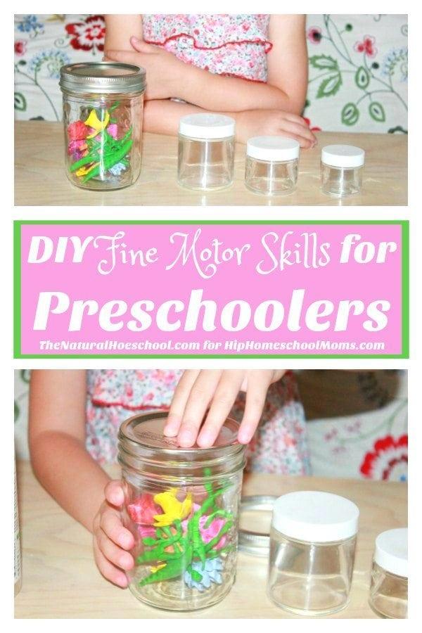 DIY Fine Motor Skills for Preschoolers