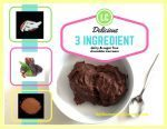 Chocolate Ice Cream – 3 Ingredient, Dairy and Sugar Free Deliciousness