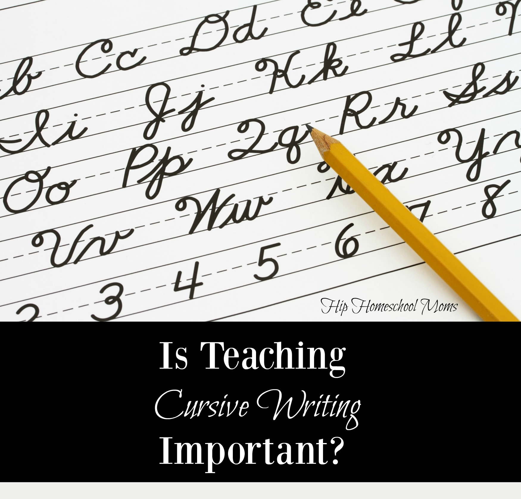 Worksheet Teaching Cursive Handwriting is teaching cursive writing important hip homeschool moms important