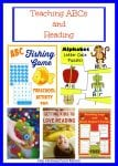 75+ Ideas, Resources, and Printables for Teaching ABCs and Reading