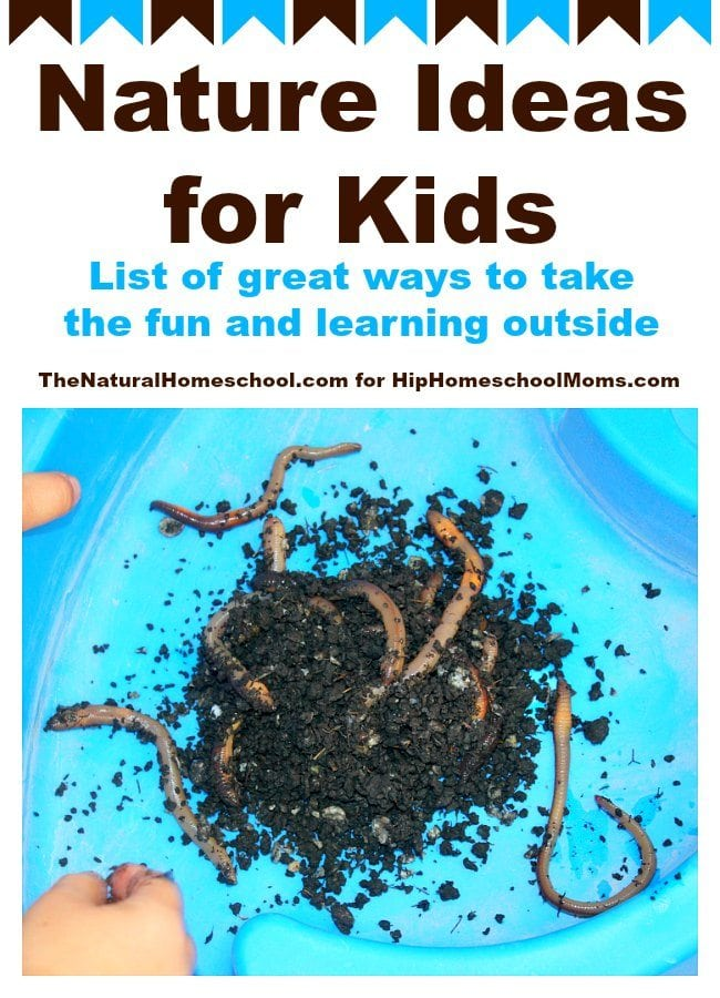 Nature Ideas for Kids: Take the Fun and Learning Outside