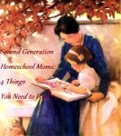 Second Generation Homeschool Moms: 4 Things You Need to Find