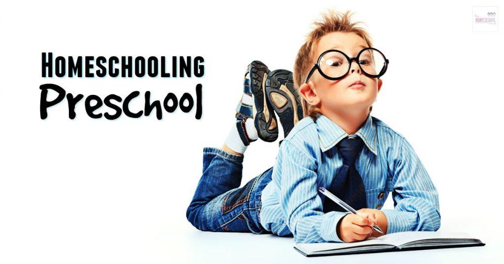 Easy activities and ideas for homeschooling preschool from Hip Homeschool Moms.