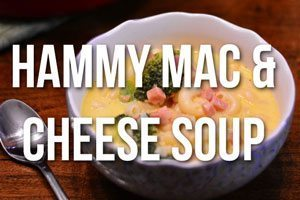 Hammy Mac & Cheese Soup