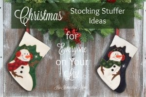 This is a great collection of stocking stuffer ideas for all ages!