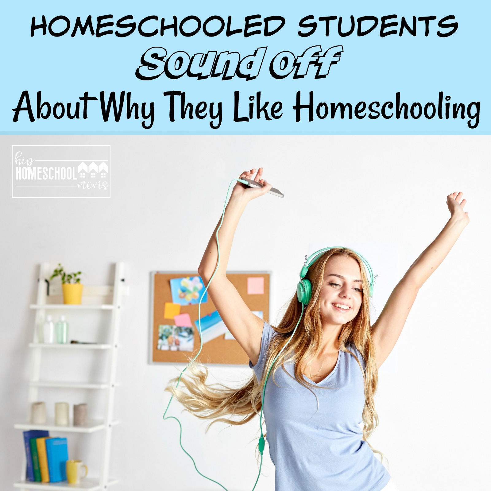 Homeschooled students explain why they love homeschooling.