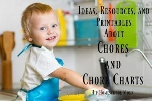 This is a great list of information about printables about chores!