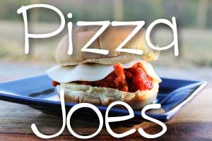 Pizza Joes - easy and kid friendly, straight from your slow cooker. Get the recipe from Hip Homeschool Moms