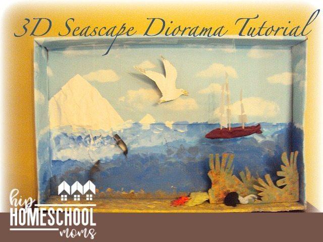 Seabird 3D Diorama Seascape Tutorial
