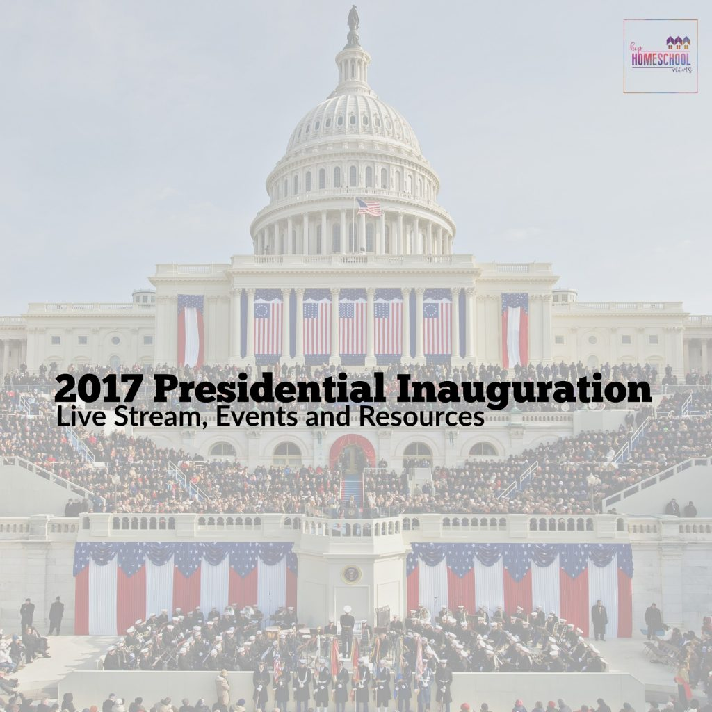2017 presidential inauguration date