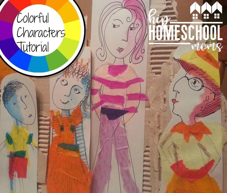 Color Harmonies Art Project | Hip Homeschool Moms