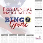 Presidential Inauguration Bingo Game Printable