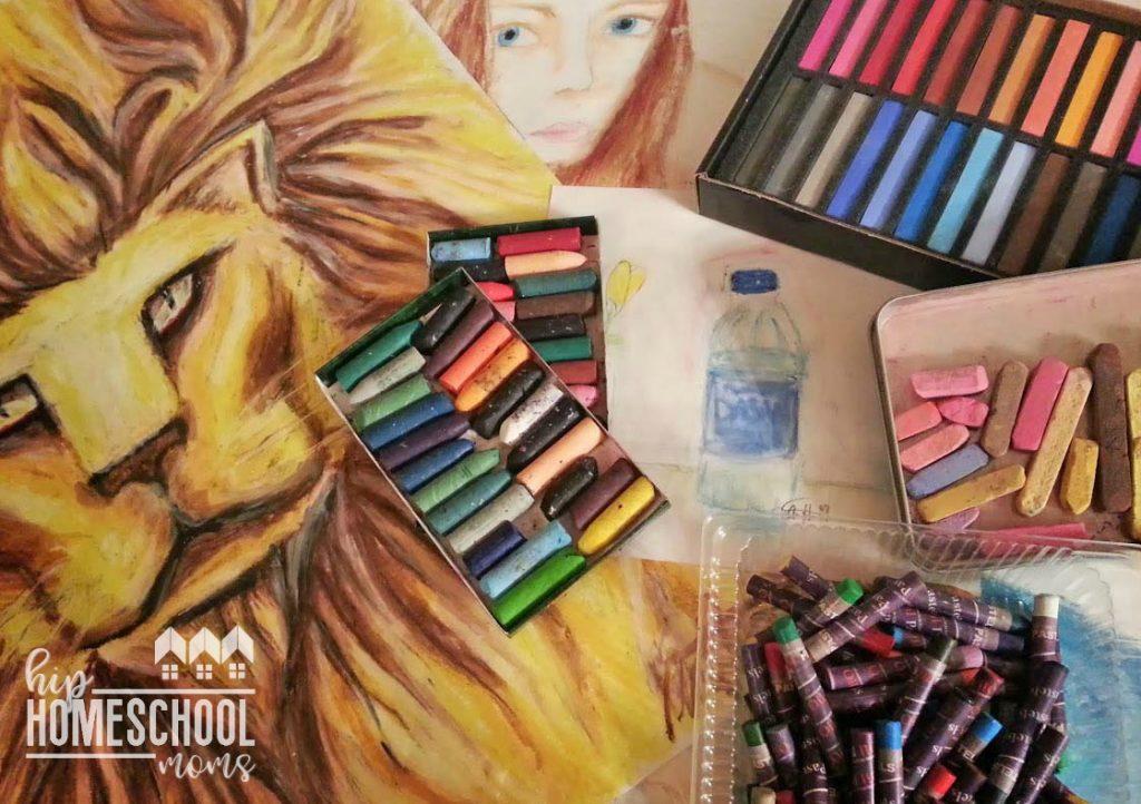Managing Homeschool Art Supplies