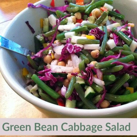 Green Bean Cabbage Salad