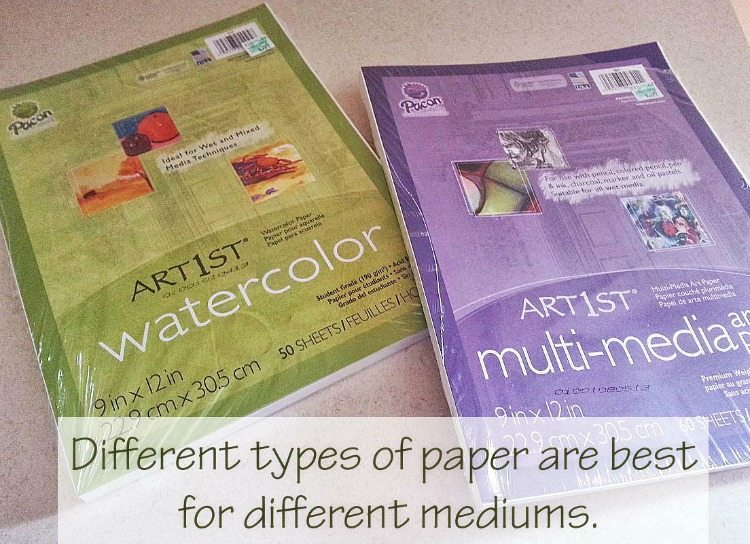 What are the best items for the Artistic Homeschool?