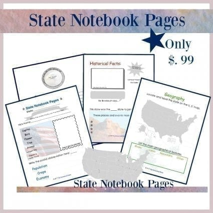 State Notebook Pages