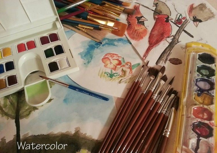 Items for the Artistic Homeschool