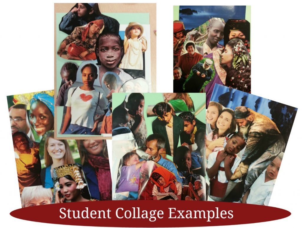 Student Collage Examples | Elements of Art Lesson Plan
