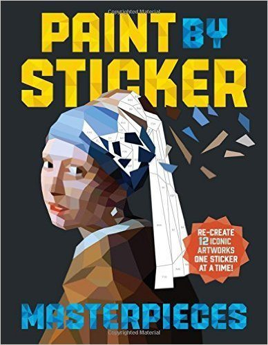 LIGHTNING DEAL ALERT! Paint by Sticker – up to 57% off!
