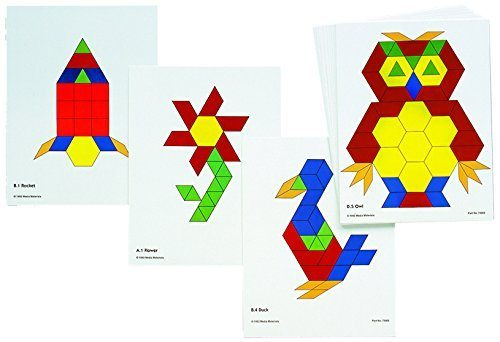 DEAL ALERT: Pattern Block Activity Cards (Pack of 20) – 53% off!