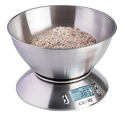 LIGHTNING DEAL ALERT! High Accuracy Digital Kitchen Food Scale Mixing Bowl (72% off)