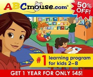 HOMESCHOOL DEAL: 50% Off ABCmouse.com Annual Subscriptions