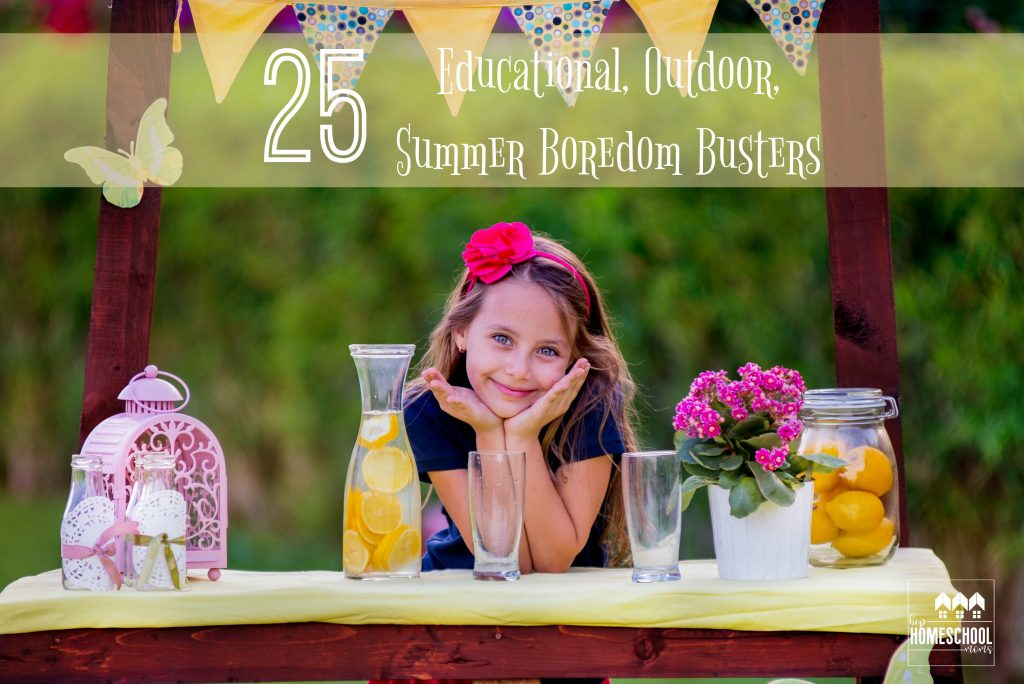 25 outdoor activities for kids to do during the summer!