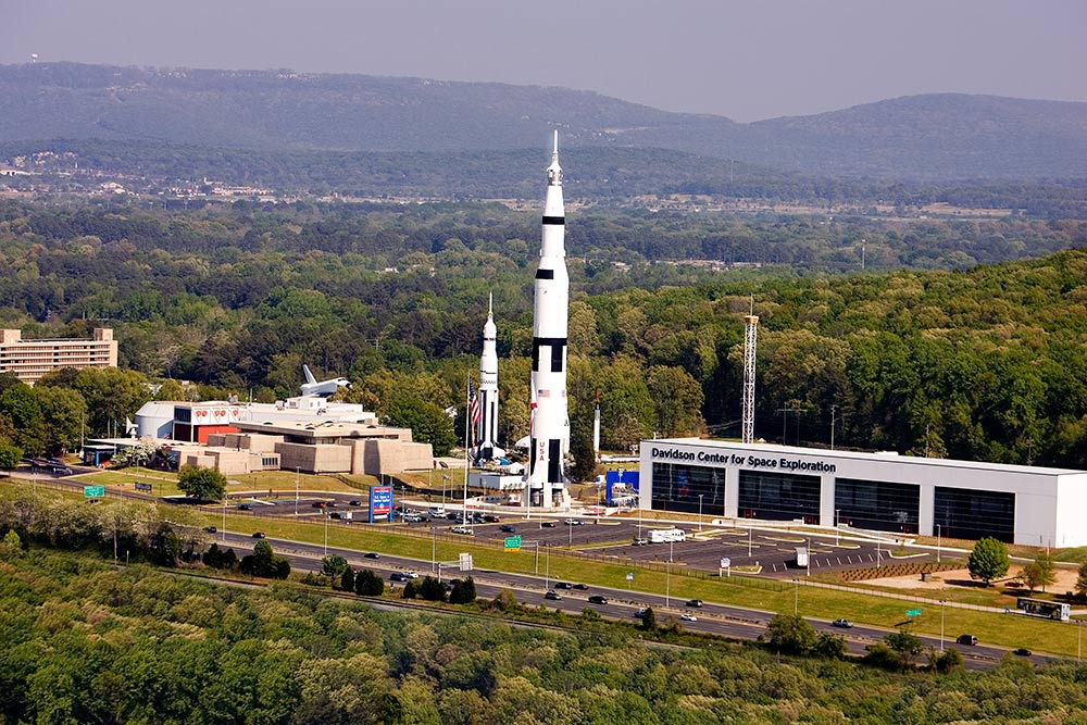 sky view of space camp