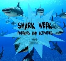 Looking for some great freebies and activities for Shark Week for your kids? Try these!
