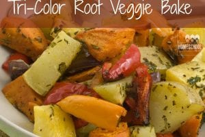 This is an easy and delicious way to use those root vegetables!