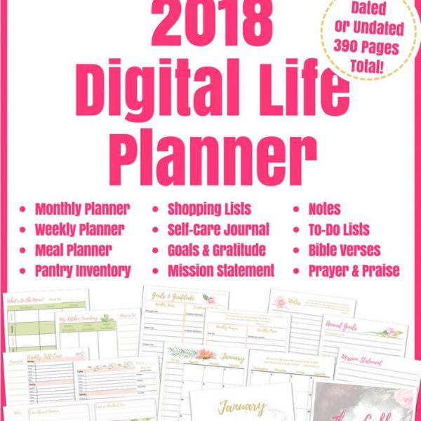 EXCLUSIVE HHM DEAL: Beyond Blessed Life Planner 20% off!