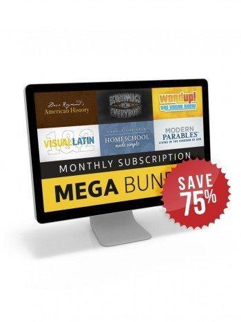DEAL ALERT: Homeschool Mega Bundle 75% off!!
